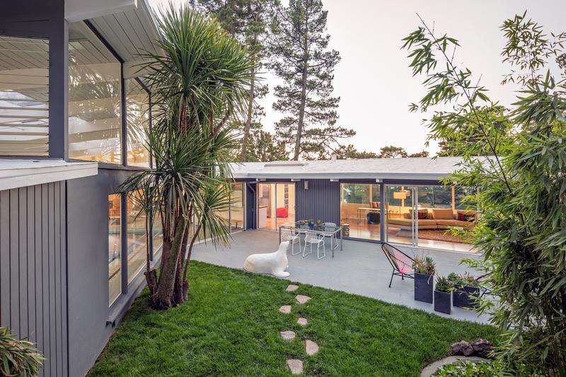 Inspirations For A Midcentury Landscape Design Homescape Now